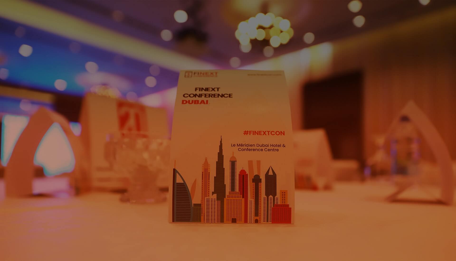 FiNext Conference Dubai<br>February 2 - 3, 2022